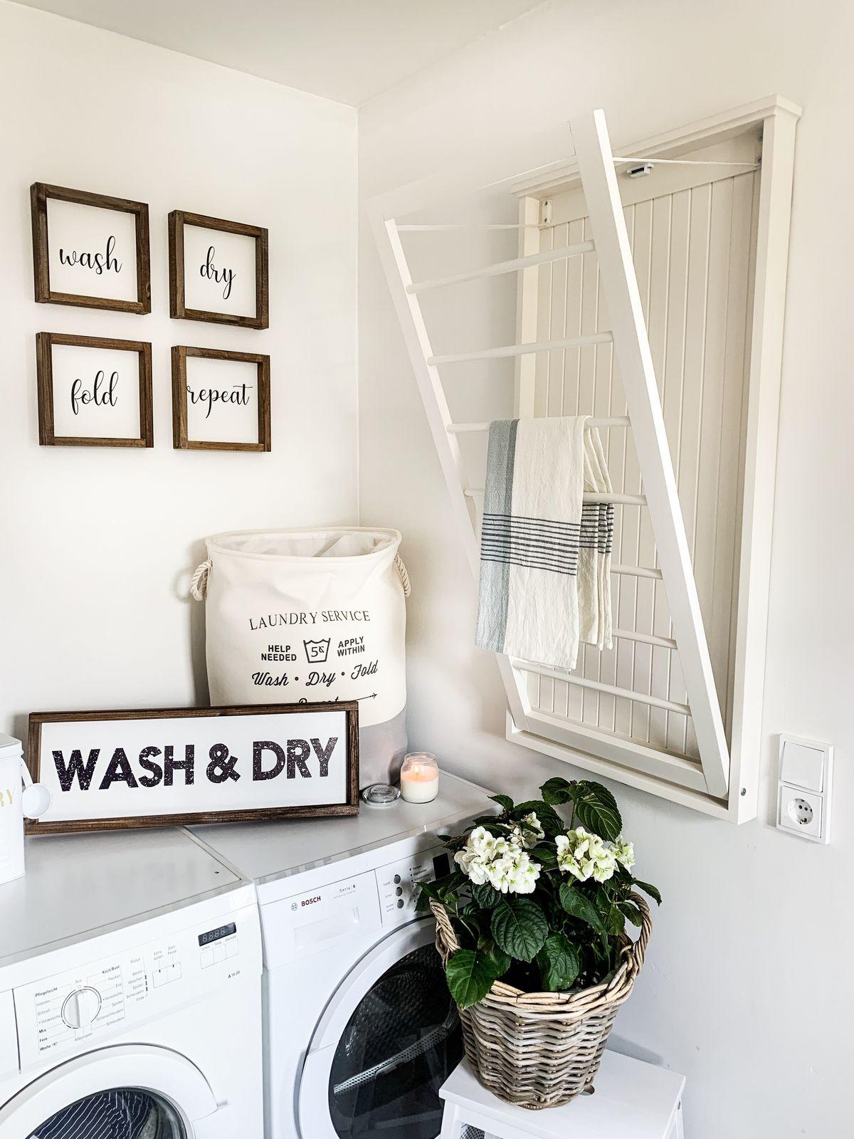 Handtuchhalter Laundry Room